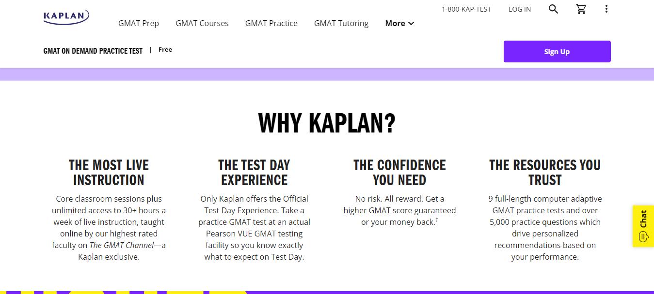 Why choose Kaplan GMAT