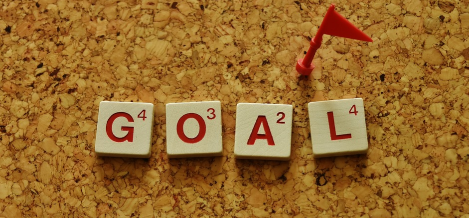 Writing down your goals to achieve higher goals
