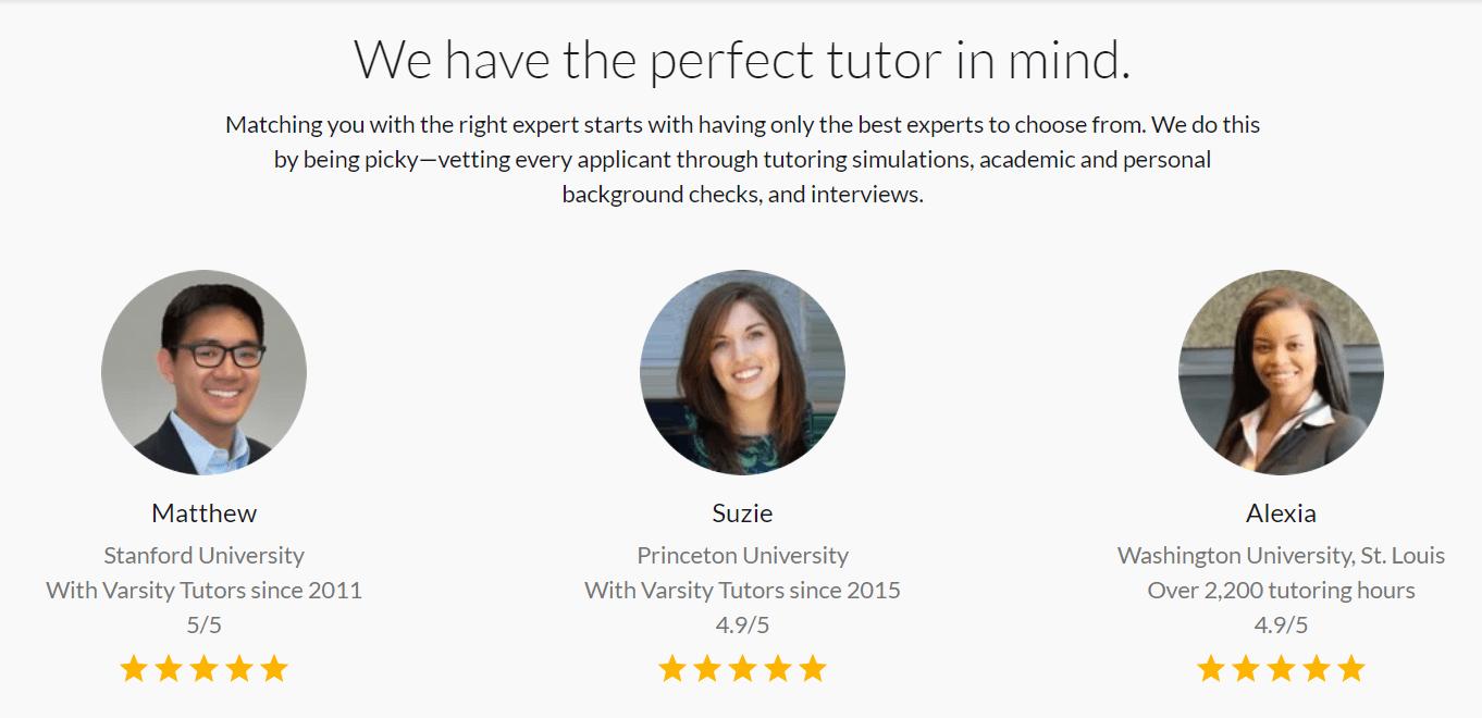 certified tutors