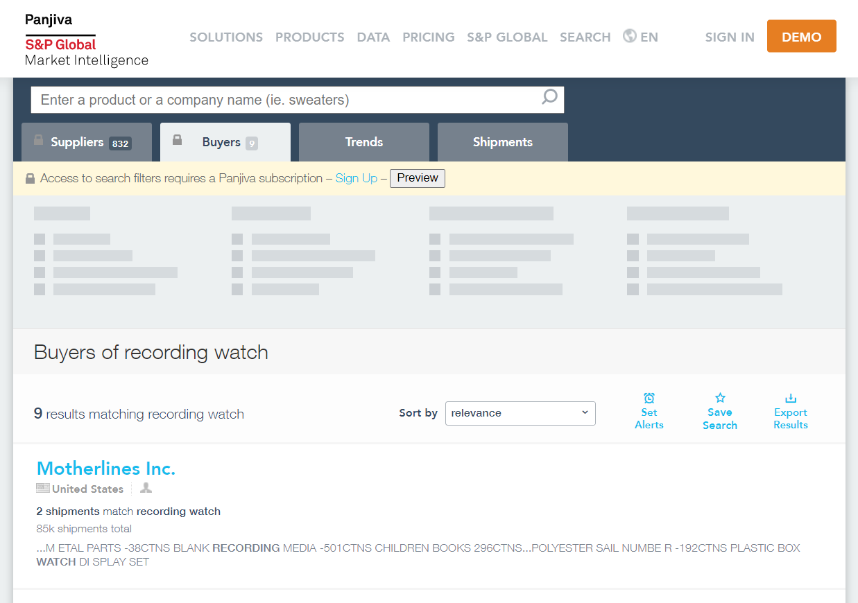Best Shopify Tools To Spy On your Competitors - Panjiva