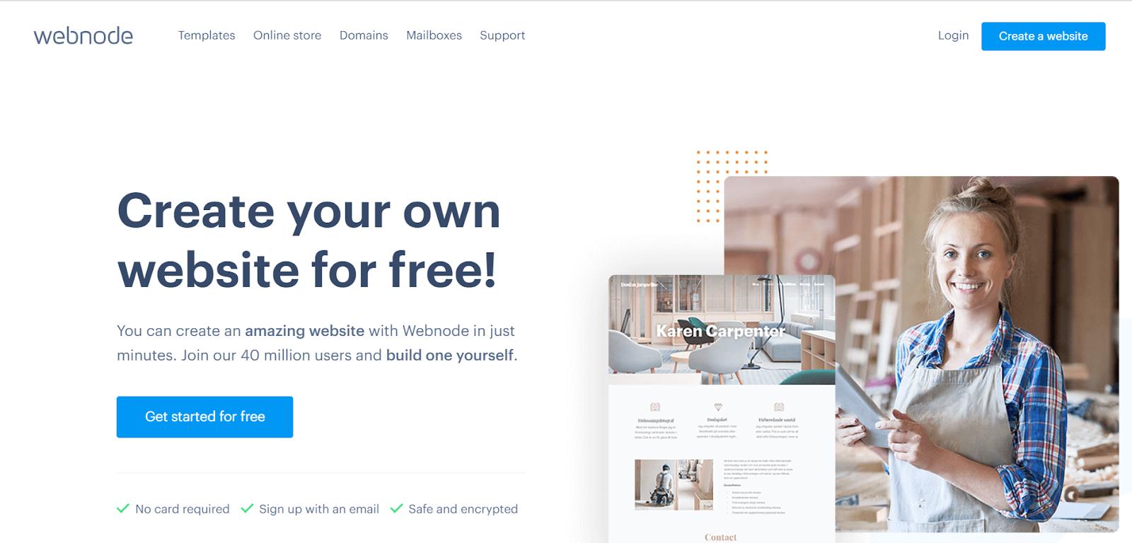 Webnode Review - Webnode
