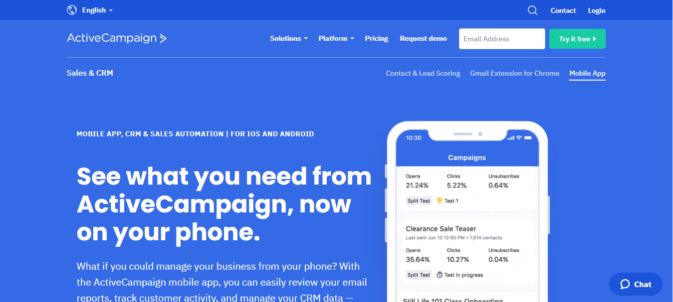 ActiveCampaign Sales CRM for Shopify