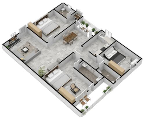 Floorplanner-3D Floor Plans