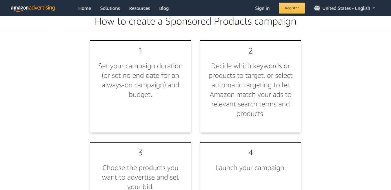 How to Create Sponsored Product Campaign