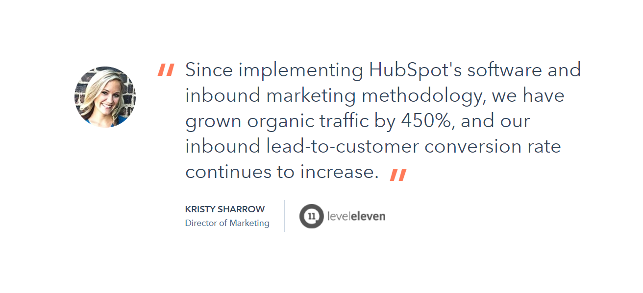 HubSpot - Customer Review