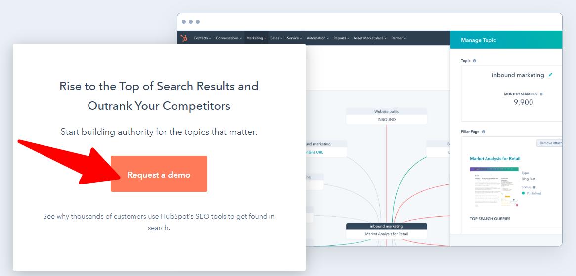 HubSpot - Landing Page