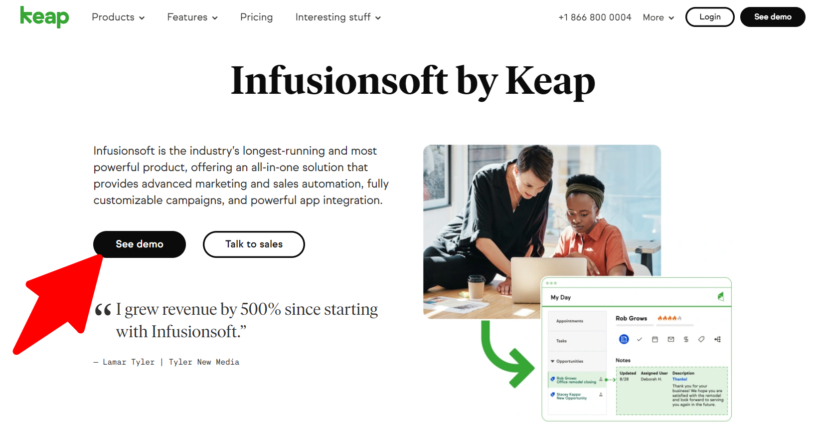 Infusionsoft Overview