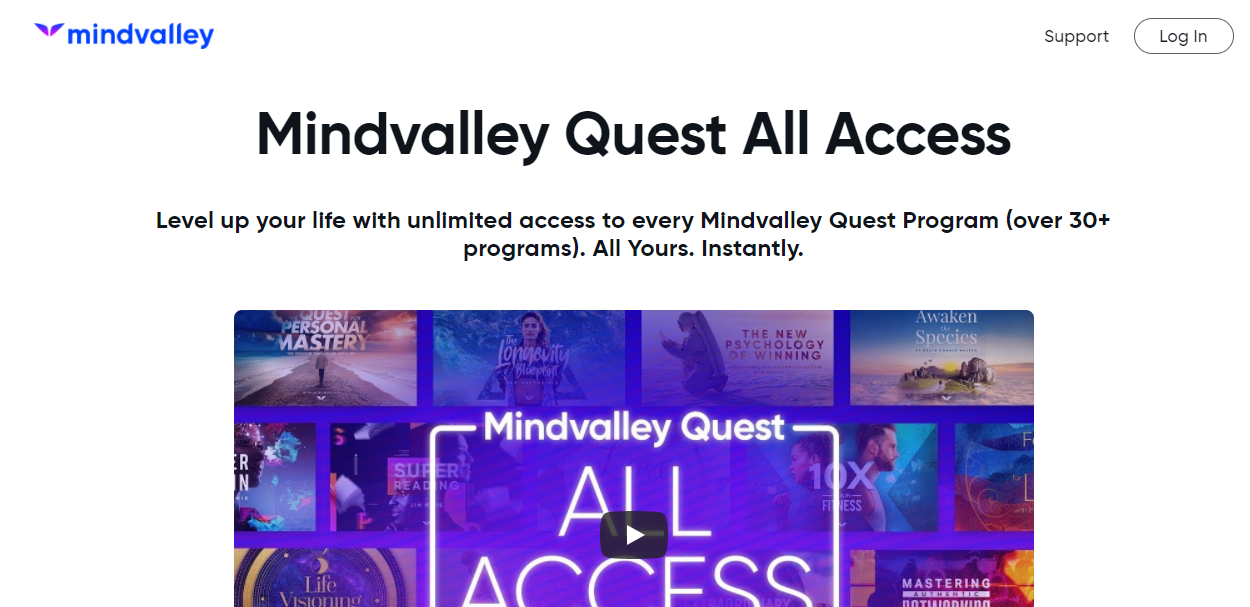 MIndvallay Quest All Access