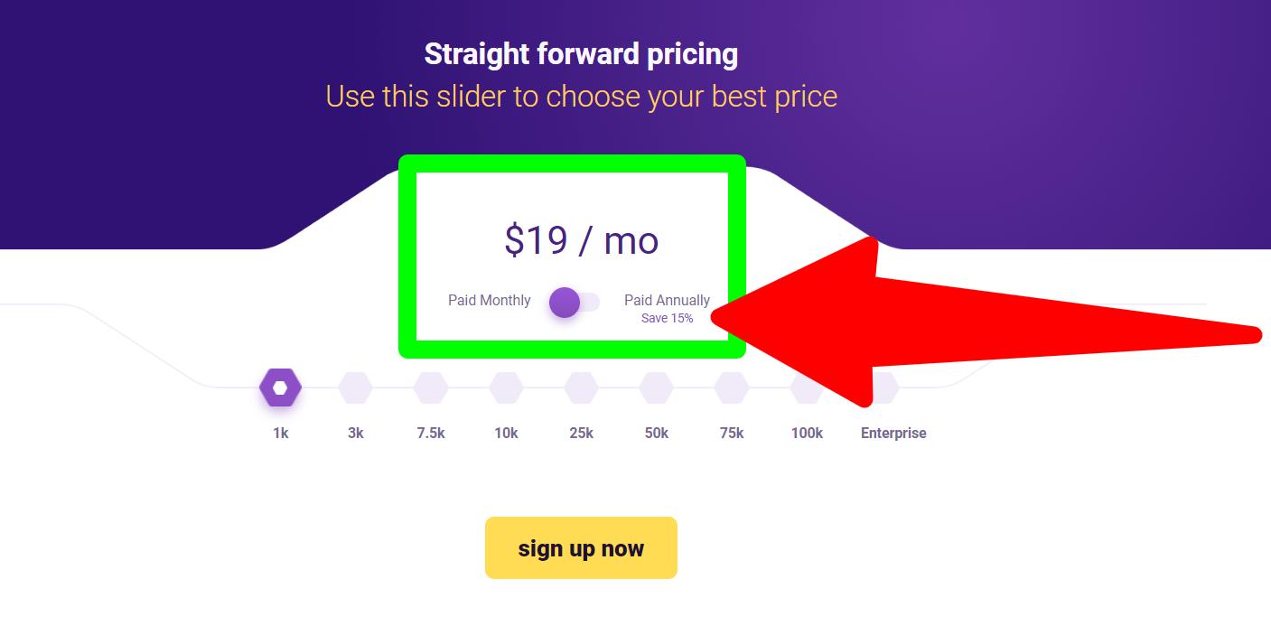 Market-Hero - Pricing