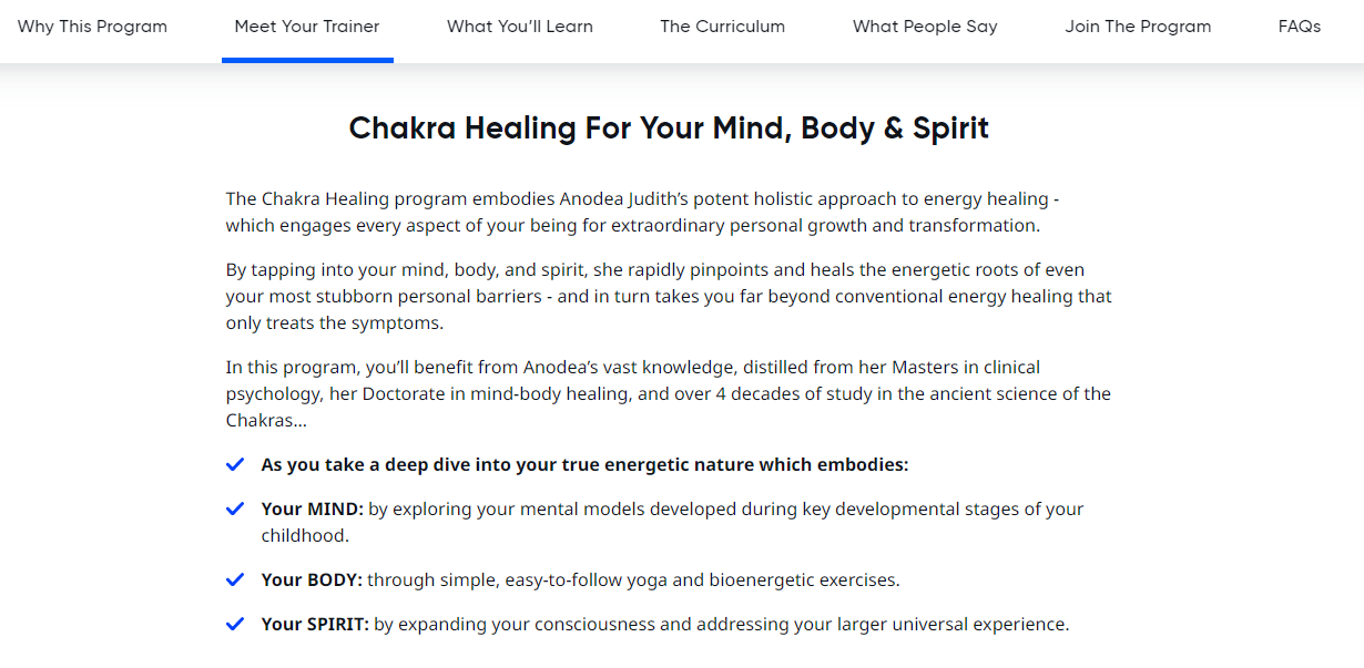 Midvalley Chakra Healing Mind, Body, and Sprit