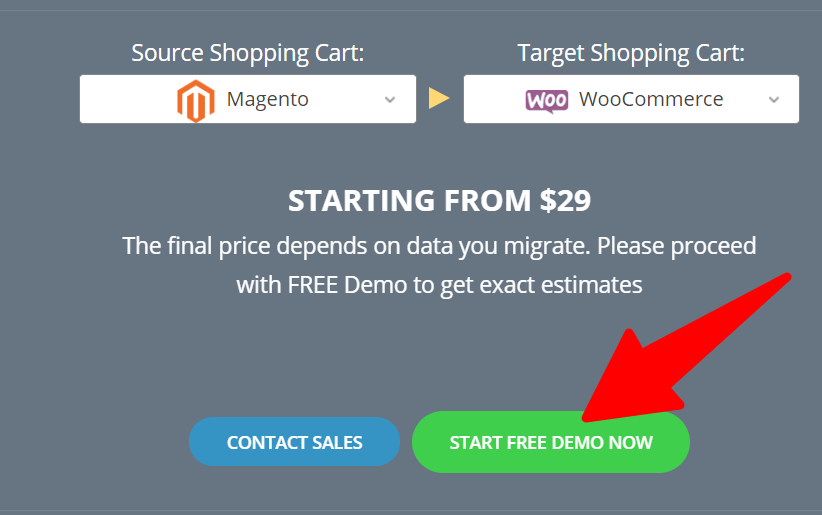 Migrate_Magento_to_WooCommerce_Cart2Cart - Pricing