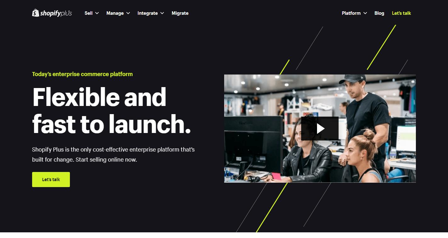 Shopify plus - ecomengine alternative