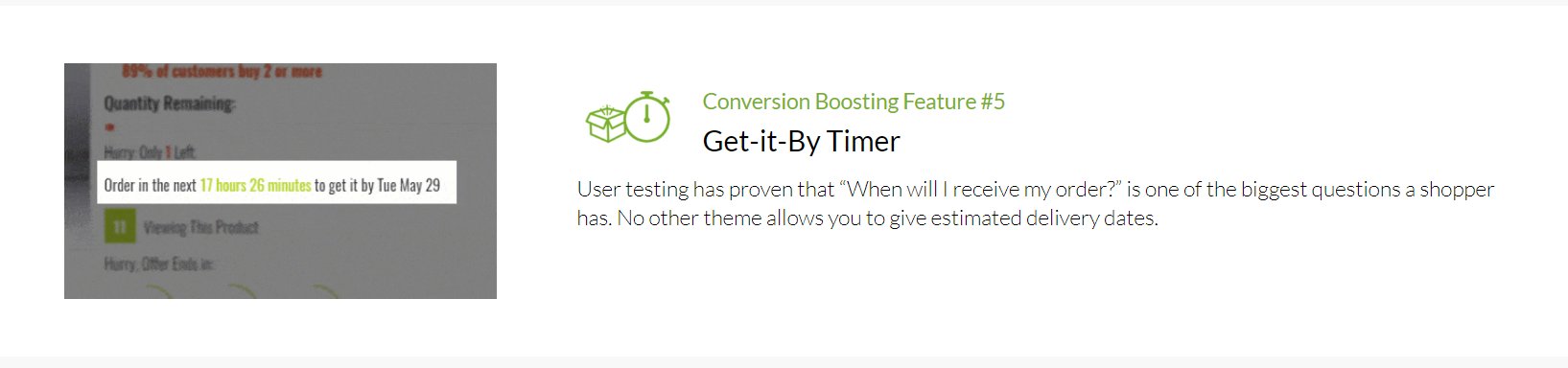 Shoptimized - Get it By Timer