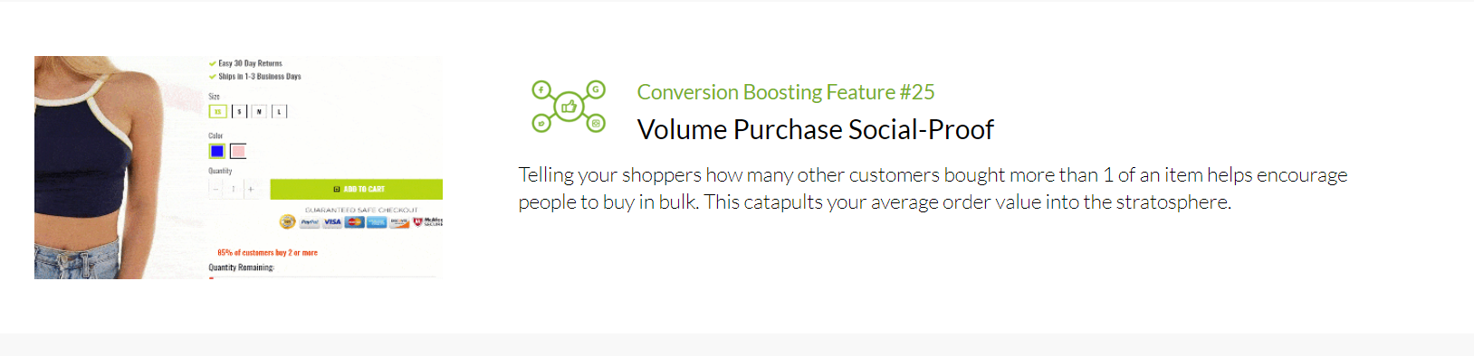Shoptimized - Social Proof