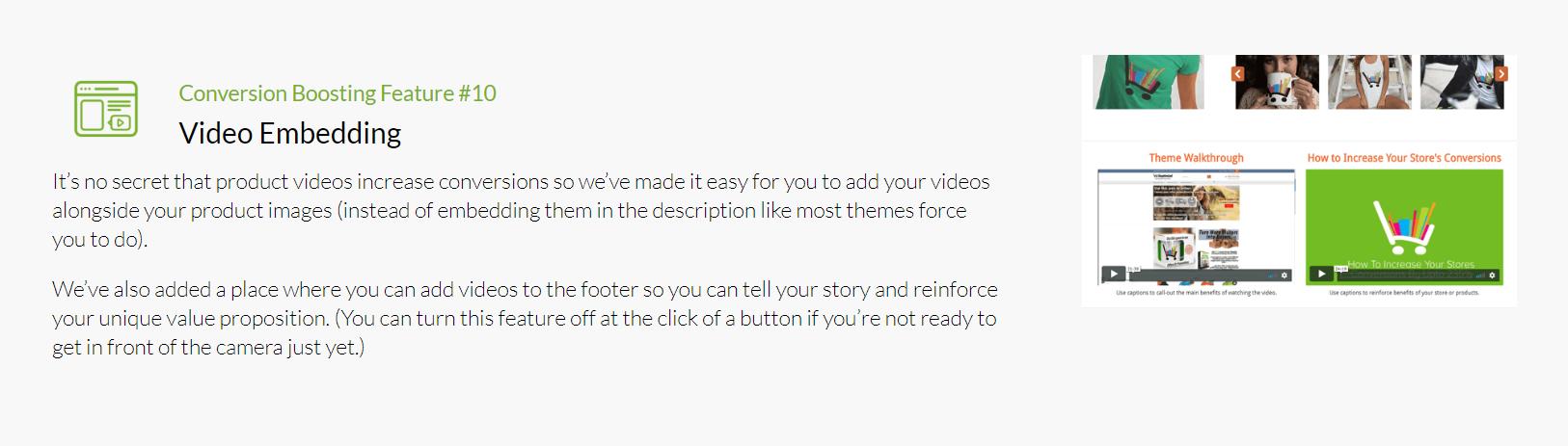 Shoptimized - Video Embedding