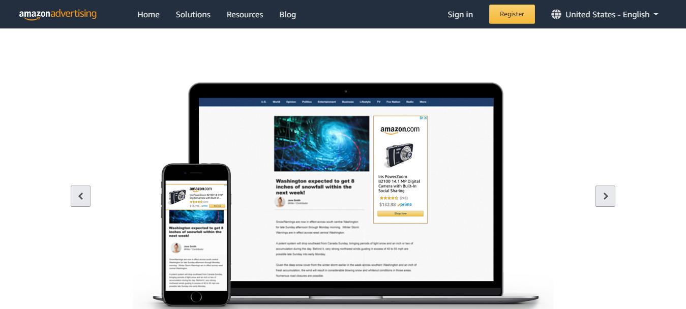 Amazon Advertising- Sponsored Display