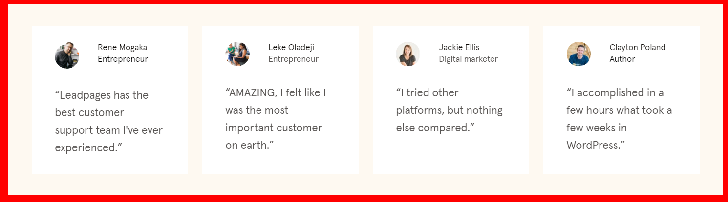 Try-Leadpages - Testimonials