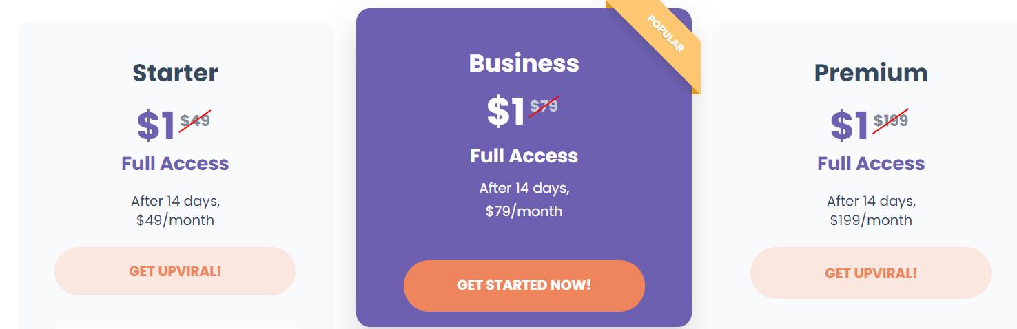 Upviral-Price