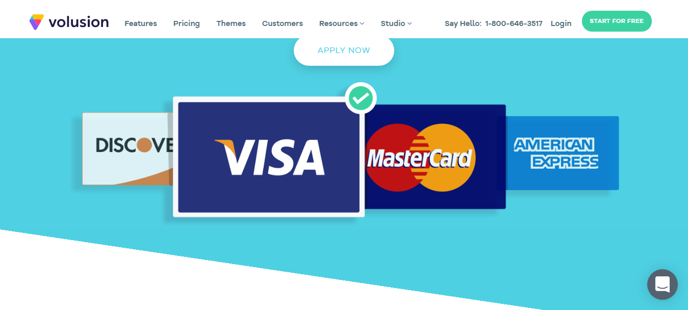 Volusion Payment Methods