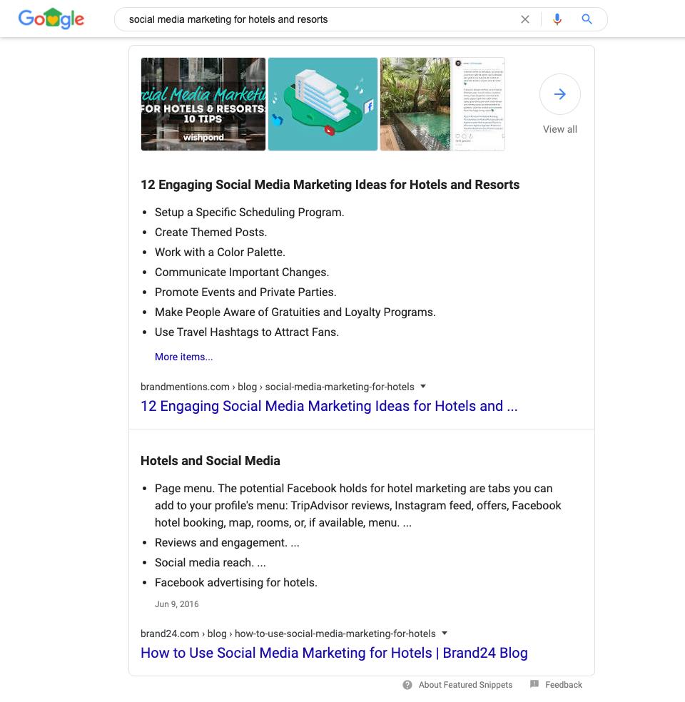 Google Answer Box update