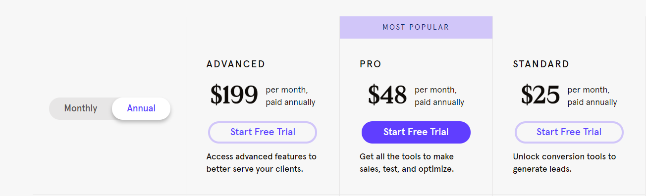 Leadpages - Pricing