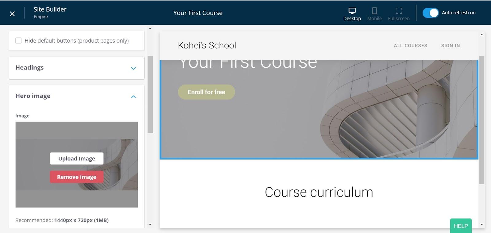 thinkifc-course-builder