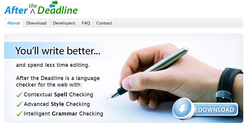After The Deadline Overview - Best Grammar Checker Tools