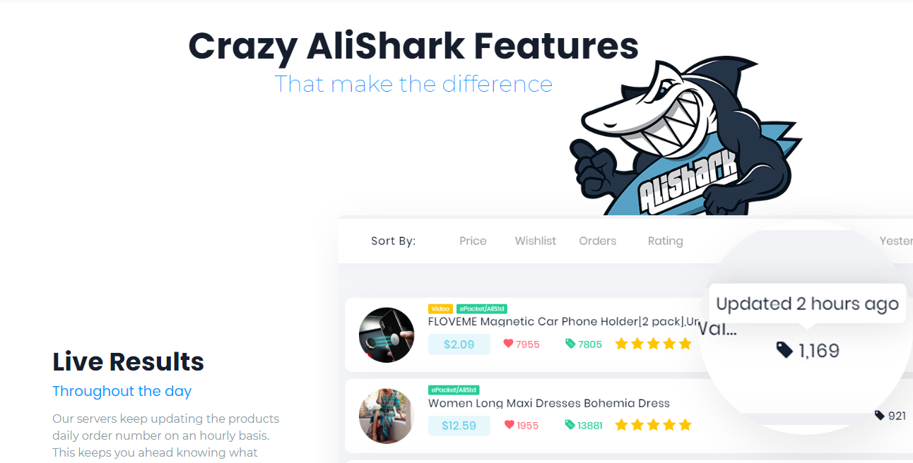AliShark- Intellegynce alternative for Shopify