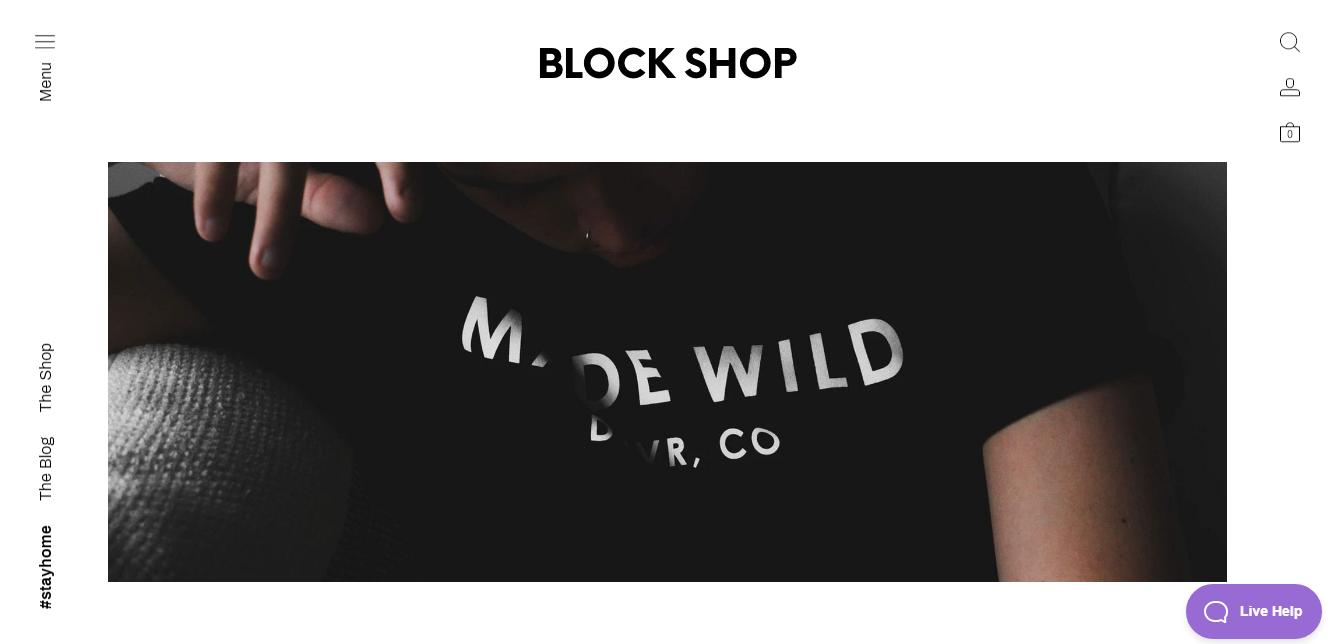 Block Shop Theme