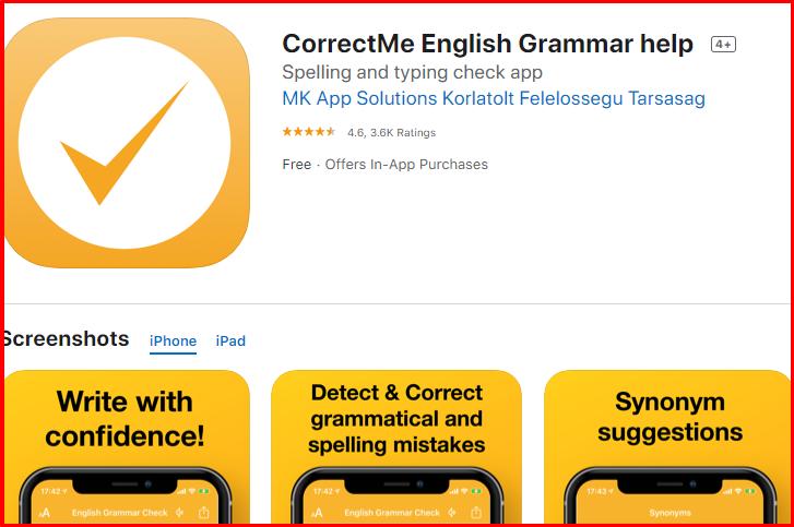 CorrectMe Overview -Best Grammar Checker Tool