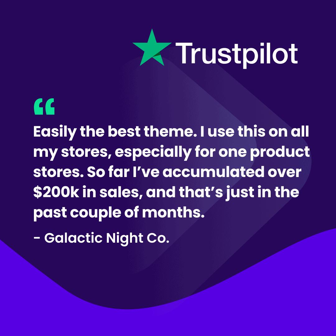 Debutify Review on trustpilot