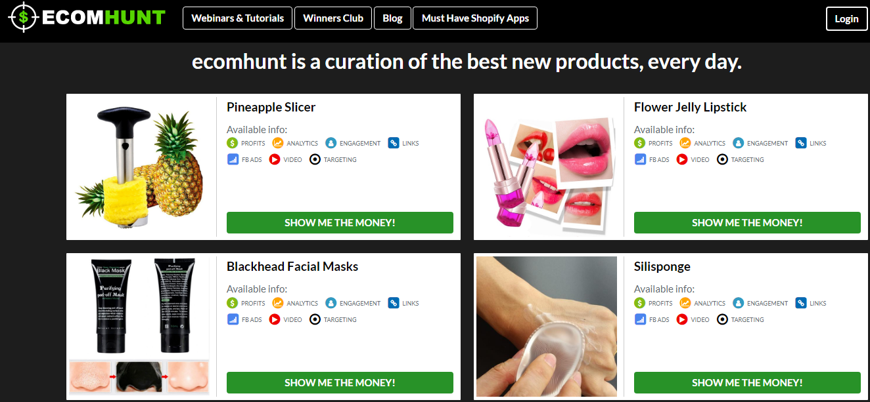 Ecomhunt winning product- Intelligynce alternatives