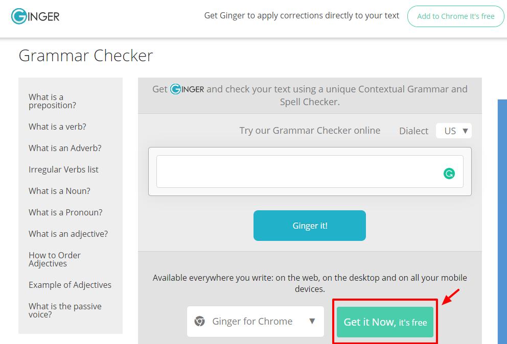 Ginger Overview - Best Grammar Checker Tools