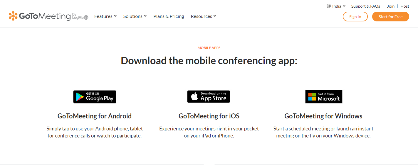 GoToMeeting-Mobile Conferencing guide