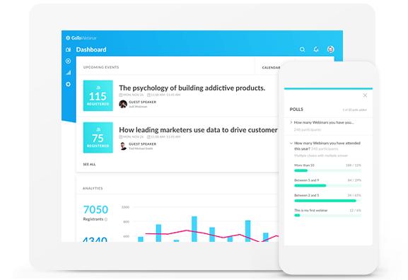 GoToWebinar reports and analytics