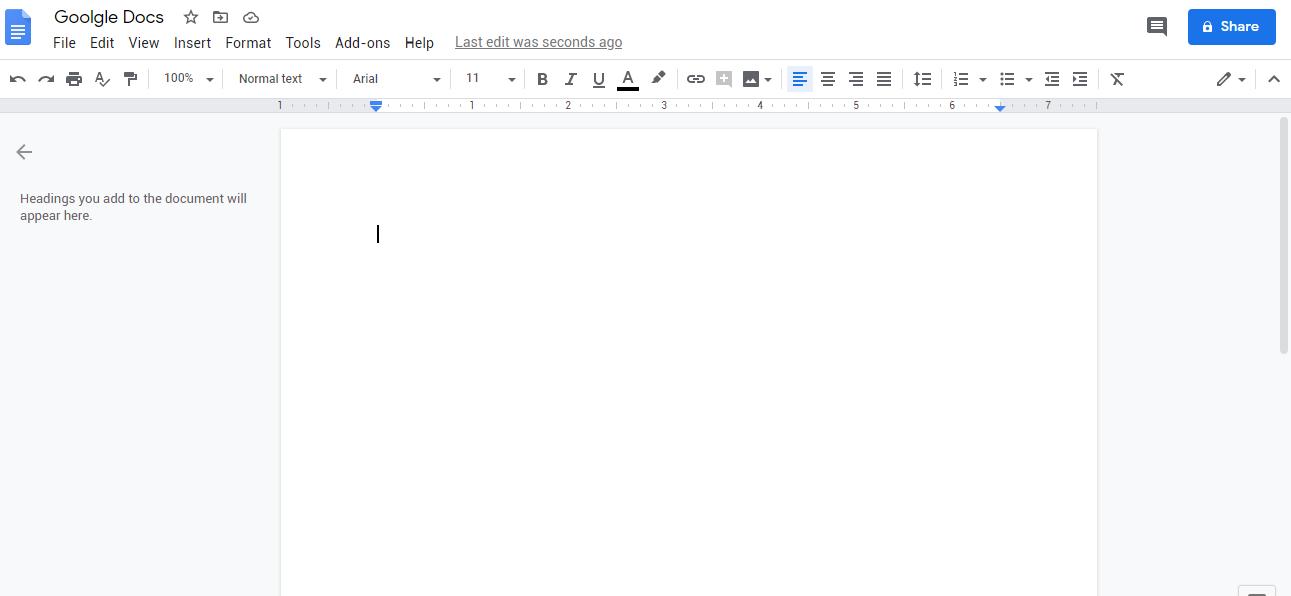 Google Docs Overview - Best Grammar Checker Tools