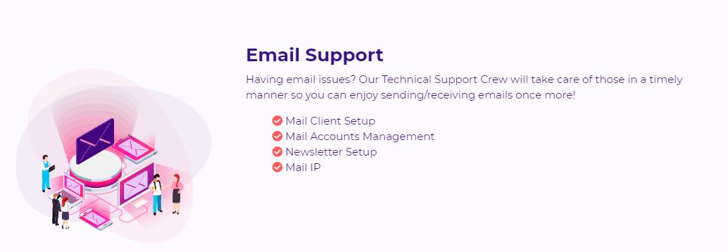 HostArmada - email Support
