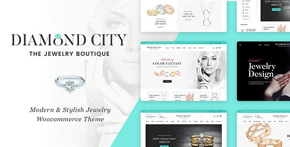 Jewerl Shop theme for shopify