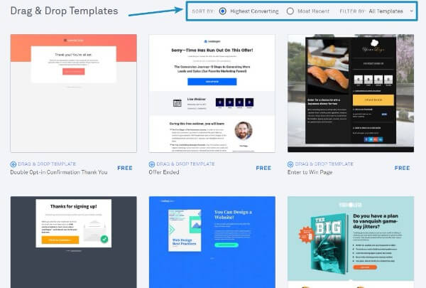 Leadpages-Sort-By-High-Converting-Leadpages-vs-Instapage