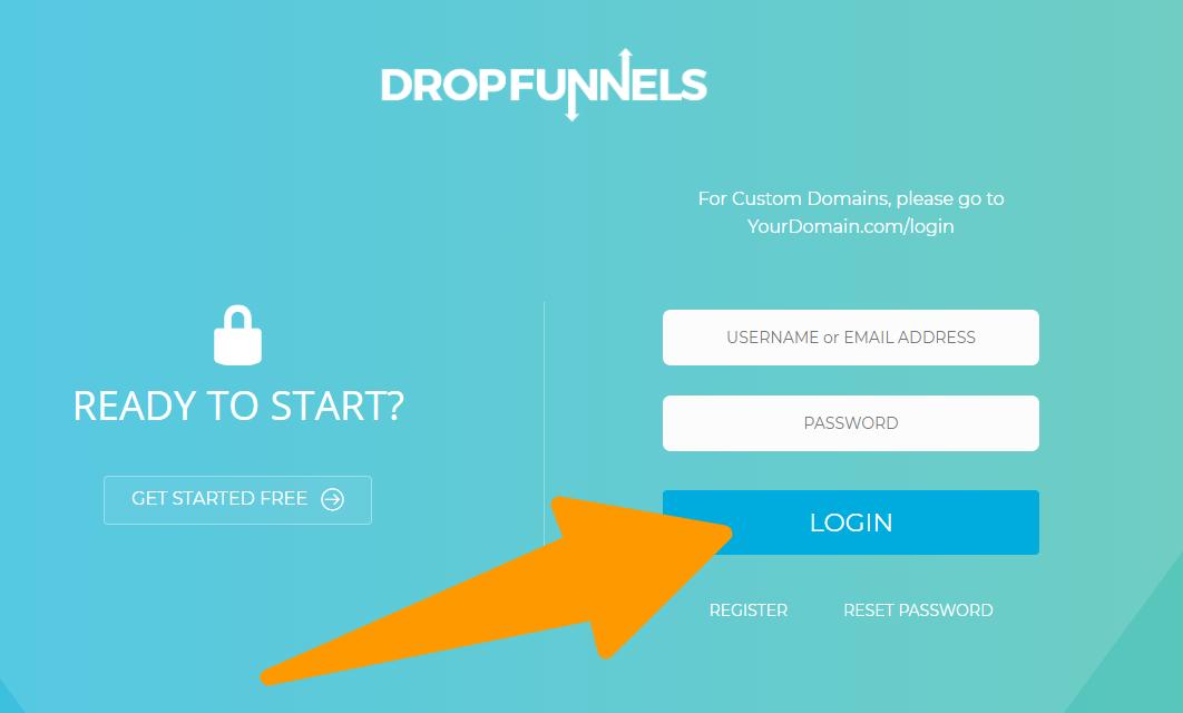 Login-DropFunnels