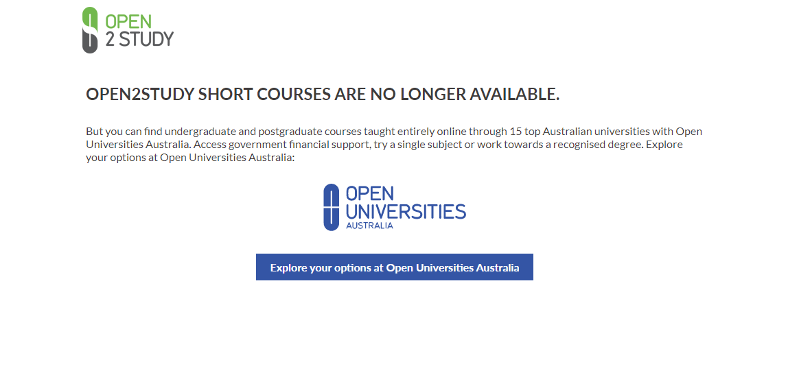 Open2Study Overview