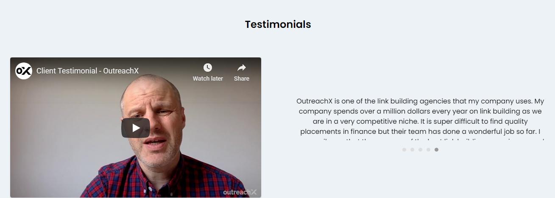 OutreachX Testimonials