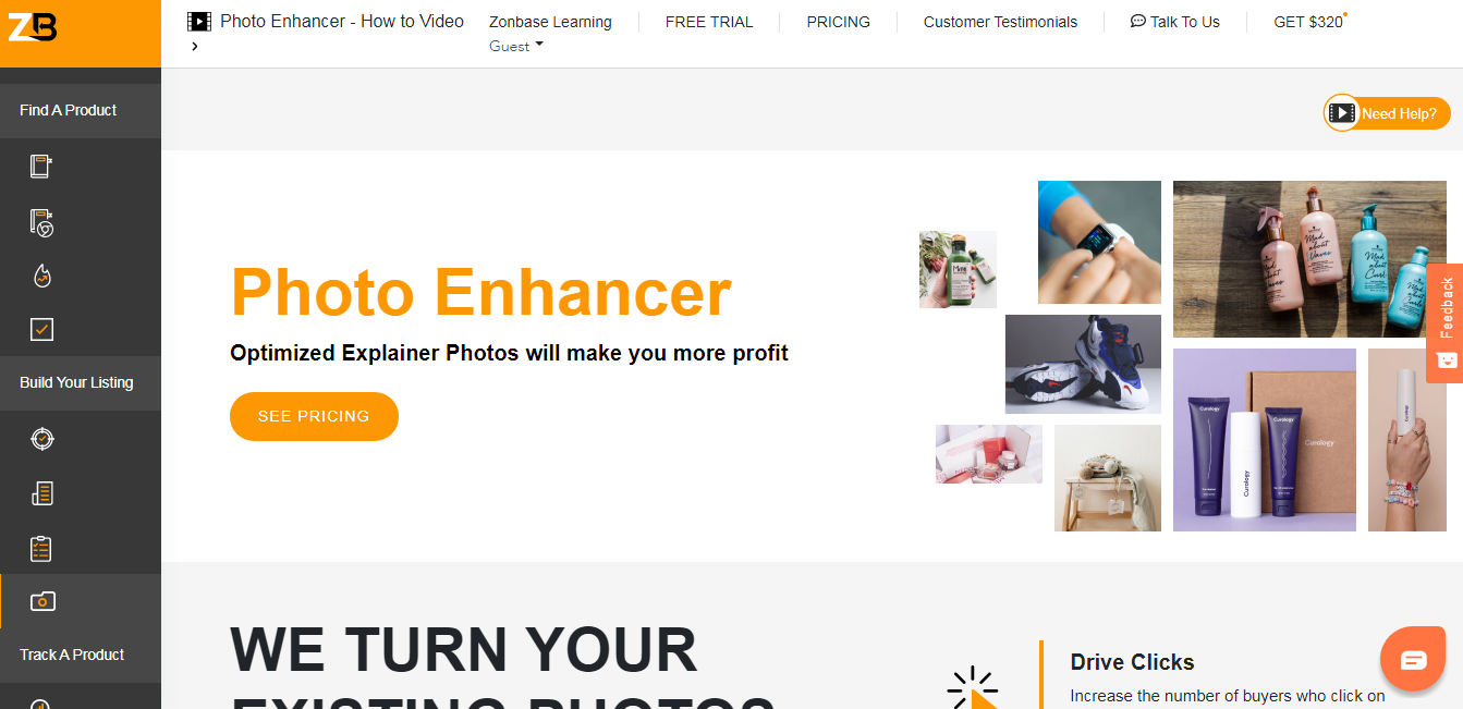 photo enhancer zonbase