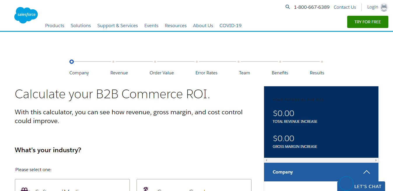 ROI SALESFORCE and ShareSpring