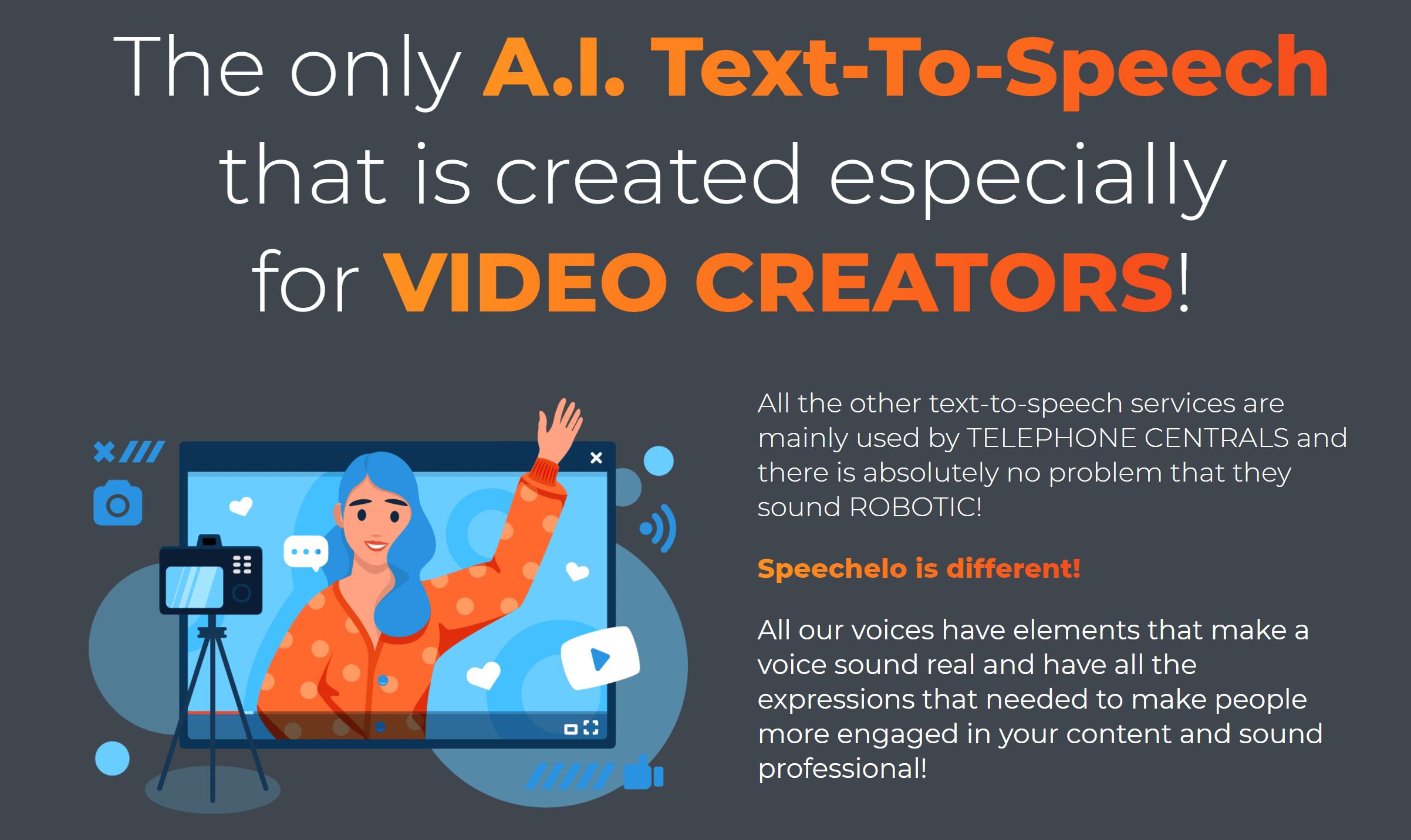 Speechelo AI software