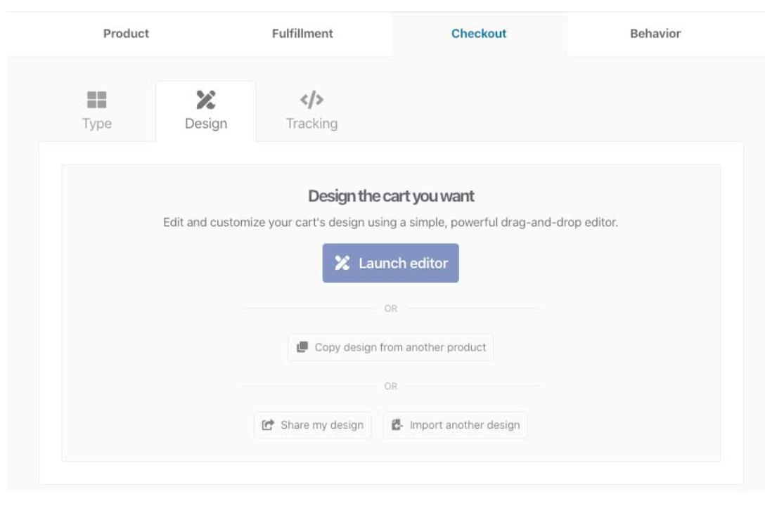 ThriveCart Launch Editor