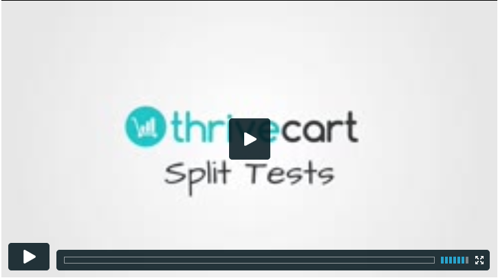 ThriveCart Split Testing guide