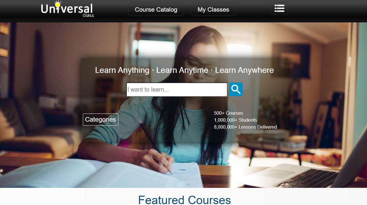 Universal Class Overview