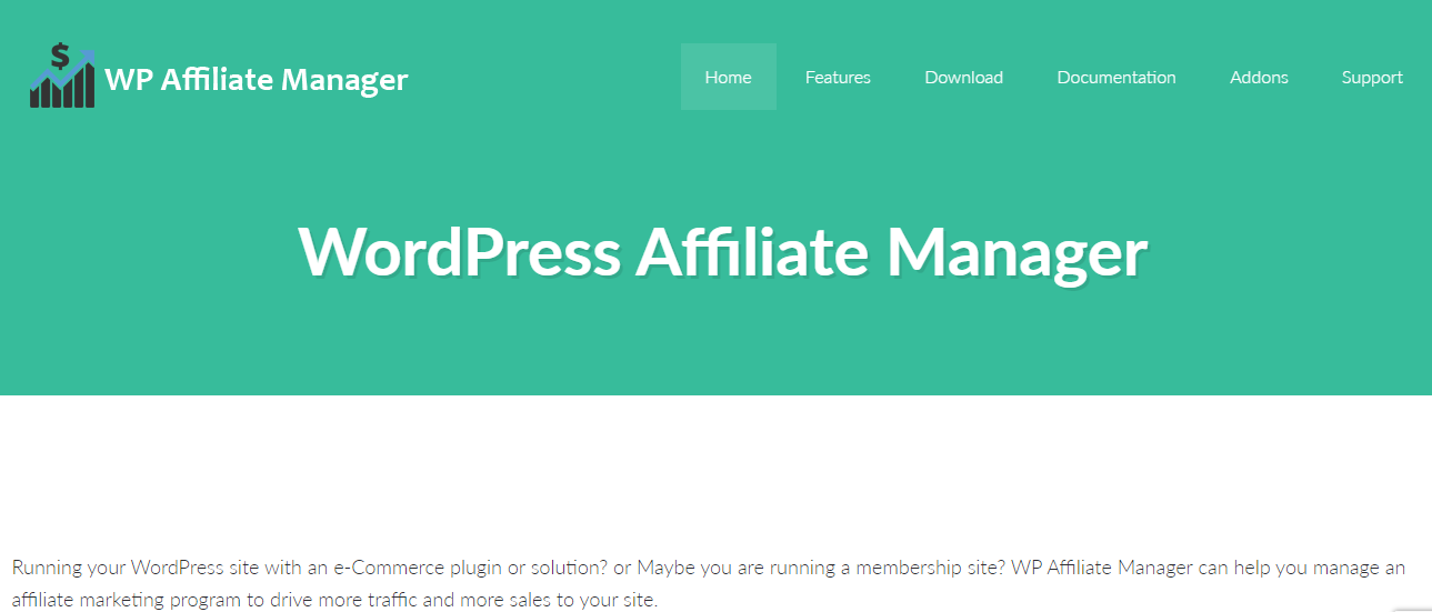 WP Affiliate Manager Overview