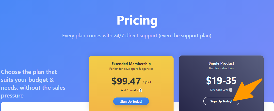 WP Subscribe Pro Pricing